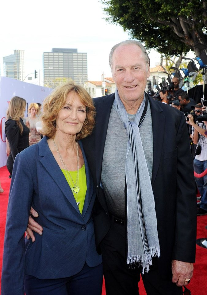 Photo - Longtime married couple Doria Cook-Nelson, left, and Craig T. Nelson attend the Los Angeles premiere of  Book Club'