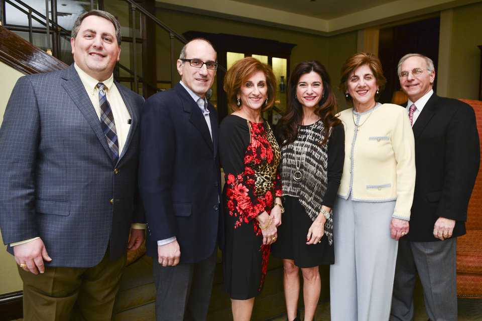 Photo - Johnny Jones III, Dr. David Shadid, Saundra Farha, Cheryl Rahill, Karla Cohlmia and Nick Kakish. PHOTO PROVIDED