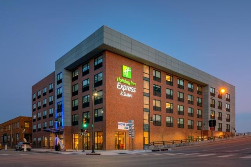 Photo -  A $16.5 million, 116-room Holiday Inn Express & Suites built next to Tulsa's ONEOK Field is seen. The Ross Group accessed $1.7 million in C-PACE financing to help pay for that project. [PROVIDED BY THE ROSS GROUP]