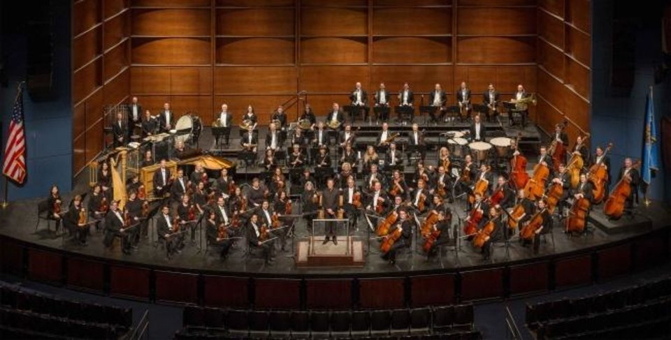 Photo -  The Oklahoma City Philharmonic performs in concert. [Photo provided]