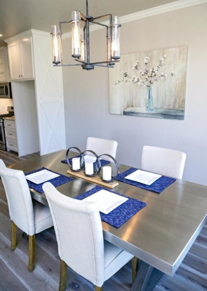 Photo -  Dining area at 6308 NW 178 Terrace. [CHRIS LANDSBERGER/THE OKLAHOMAN]
