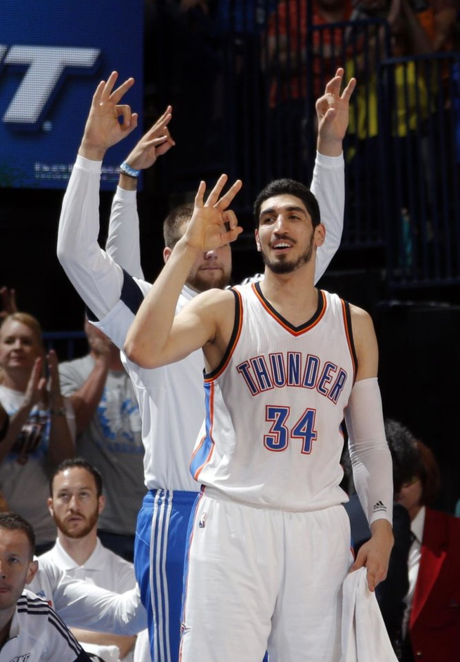 thunder  how the thunder embraced enes kanter the person