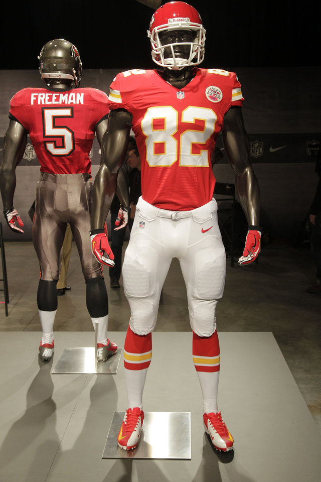 NFL unveils new Nike uniforms for all 32 teams 8e097722a
