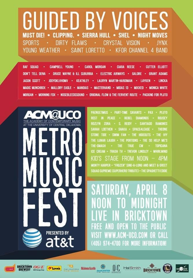 Photo -  Metro Music Fest poster. [Image provided]