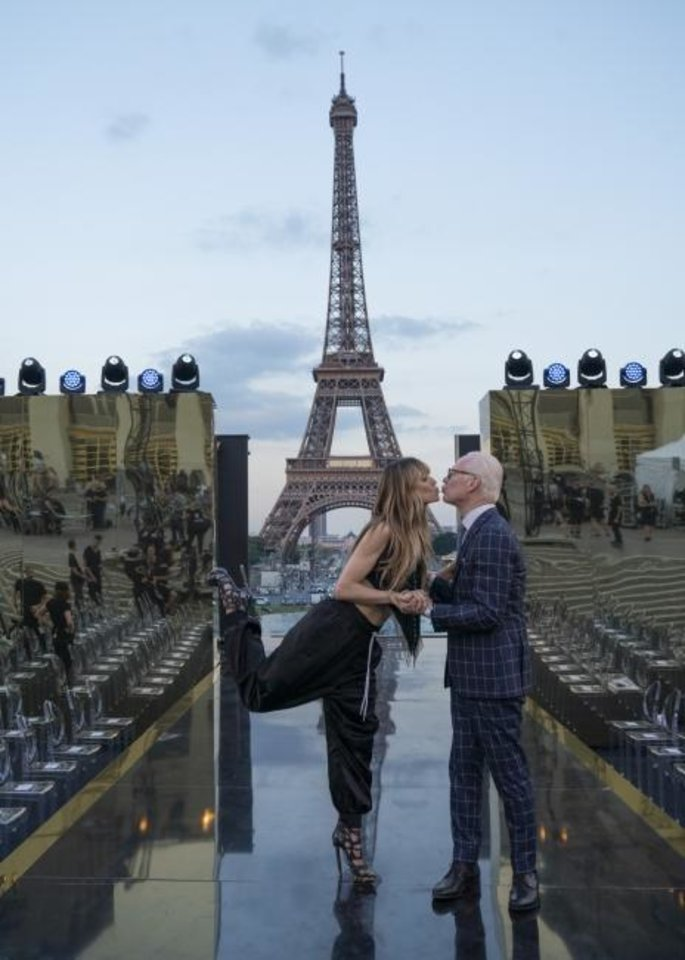Photo -  Heidi Klum and Tim Gunn appear in Paris in the hotly anticipated new Amazon Original series