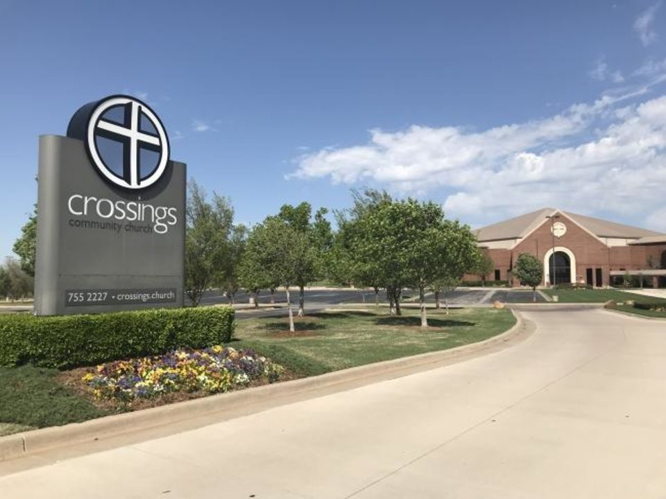 Photo -  Crossings Church in north Oklahoma City already has two satellite campuses. [CARLA HINTON/THE OKLAHOMAN]
