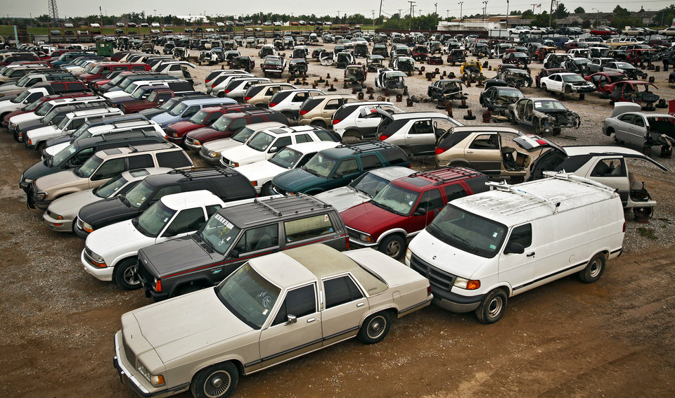 G&R Auto Salvage >> Cash For Clunkers Leaves Behind A Graveyard Of Clunkers