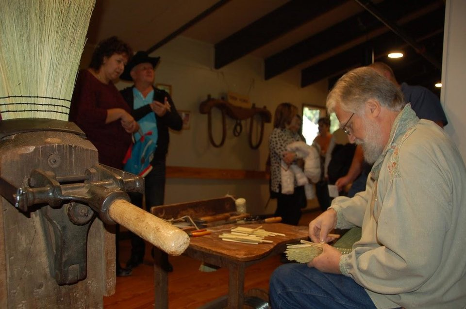 Photo - One of Oklahoma's most popular fall festivals, the free Beavers Bend Folk Festival & Craft Show usually takes place in November at the Forest Heritage Center in Beavers Bend State Park. [Photo provided]