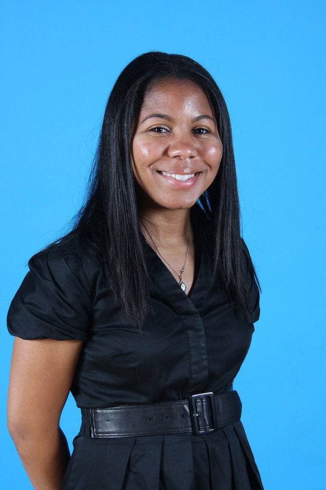 Amanda Green is the Oklahoma City Thunder's basketball operations coordinator for legal and administration and one of the highest ranking female team ...
