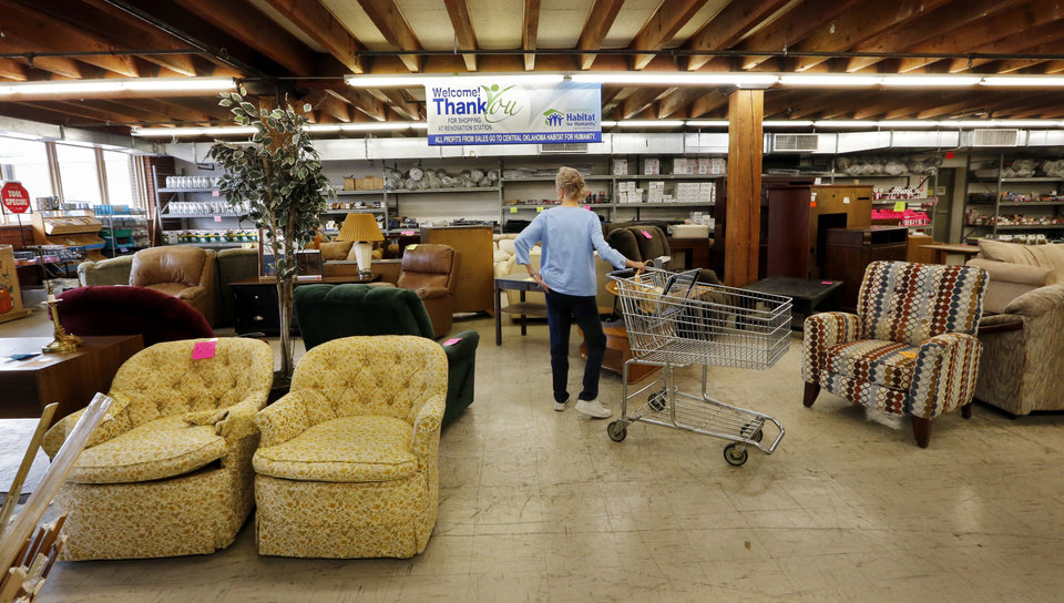 The Central Oklahoma Habitat For Humanity ReStore Includes Furniture,  Household Goods, Rugs, Paint, Tile And Many Other Items For Sale, With  Proceeds ...