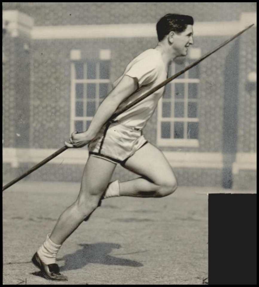 Photo -  Bob Peoples made the U.S. Olympic trials when he was still in high school at Classen. The Oklahoma City native just missed making the team, though his excellence as a prepster has landed him a spot in the National High School Track and Field Hall of Fame. [THE OKLAHOMAN ARCHIVE]