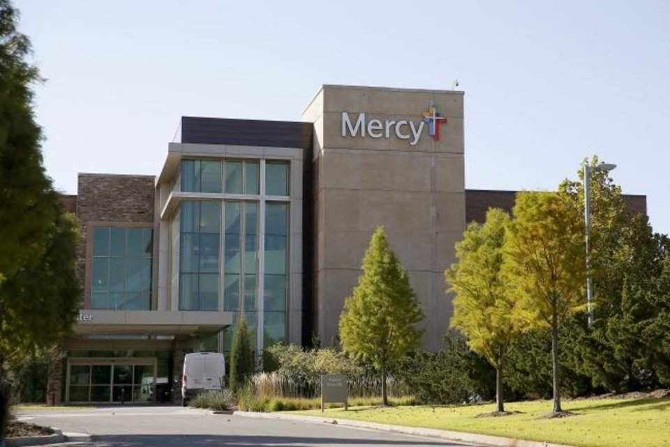 Photo -  Mercy Hospital Oklahoma City Inc. has acquired its Edmond campus at Interstate 35 and E 15th Street from the developer. [BRYAN TERRY/THE OKLAHOMAN]