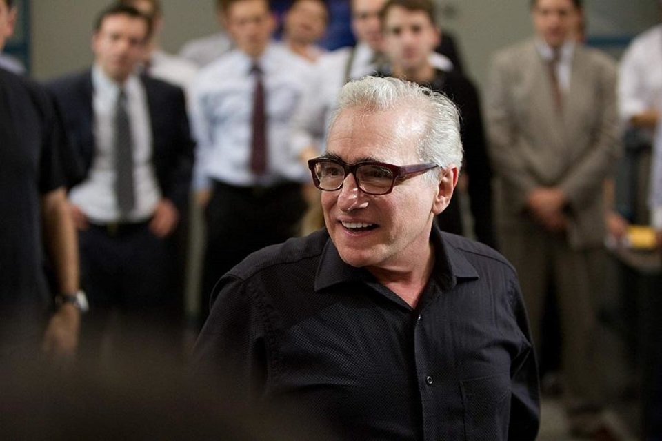 Photo - Academy Award-winning director Martin Scorsese appears on the set of his