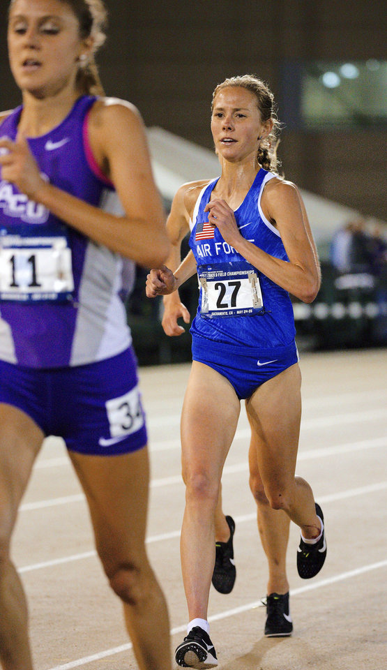 Photo - Jaci Smith, former Edmond North runner who finished her career over the weekend for Air Force. [Photo provided]