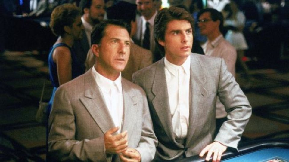 Photo -  Dustin Hoffman and Tom Cruise star in