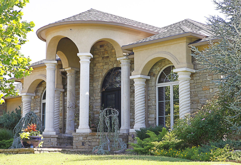 Homes With Columns mediterranean travel lends flavor to homebuilder's design | news ok