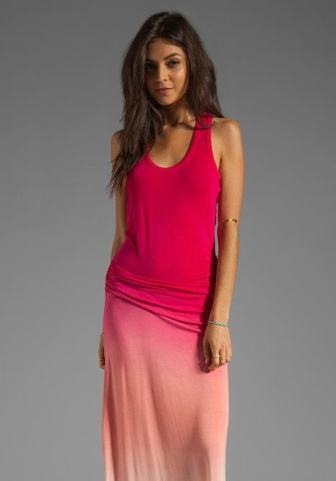 Photo - Ombre maxi dress from Young, Fabulous & Broke. Photo provided.
