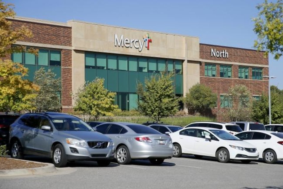 Photo -  A view of Mercy Hospital's Edmond campus. [BRYAN TERRY/THE OKLAHOMAN]