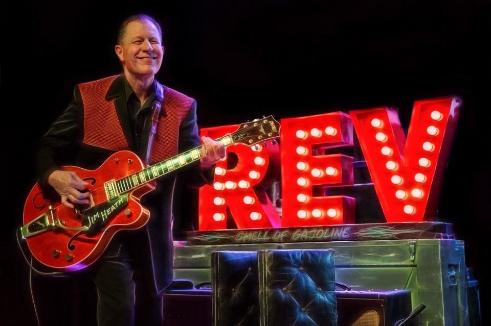 Photo - Jim Heath is frontman for the revered Texas rockabilly band the Reverend Horton Heat. [Photo provided]