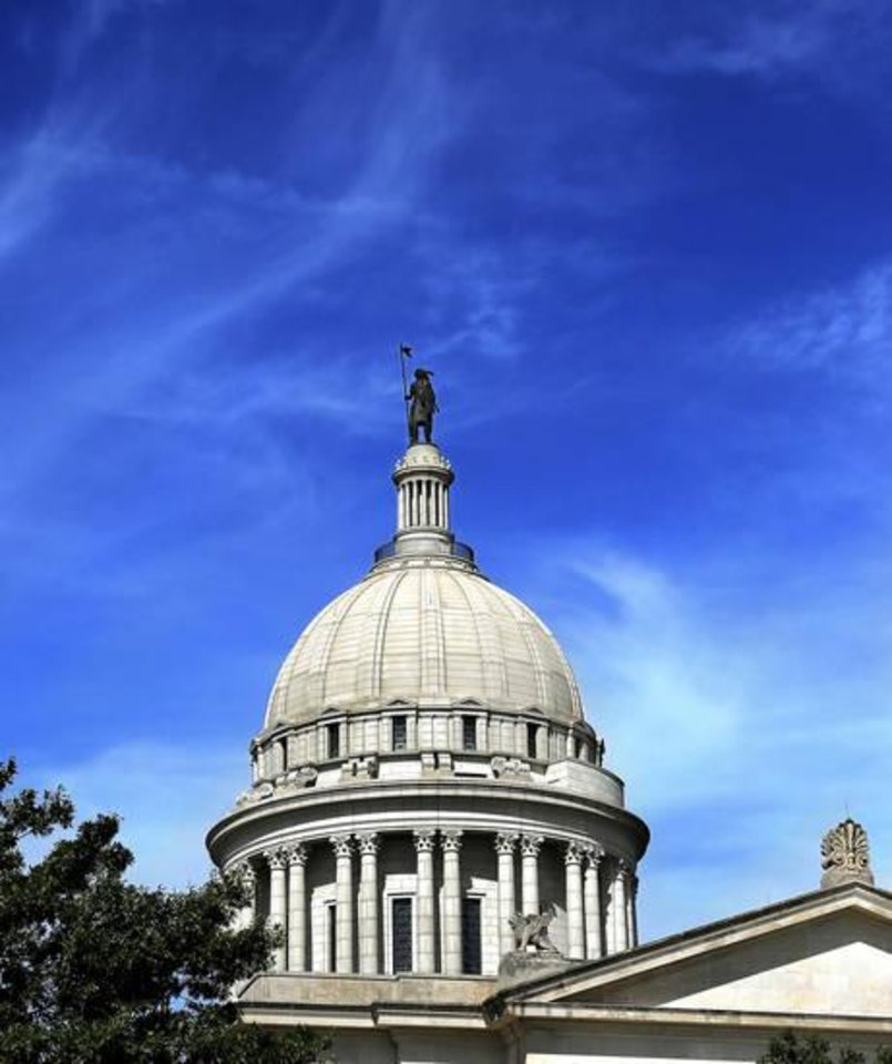 Photo -  Oklahoma state Capitol building