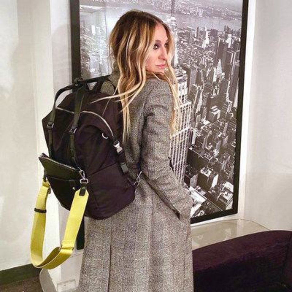 Photo - The  Samsonite & Sarah Jessica Parker Carried Away Convertible bag. It's on Oprah's Favorite Things holiday gift list.