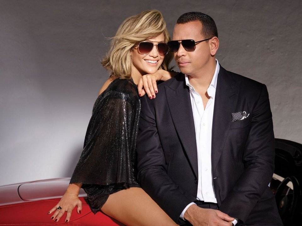 Photo - Jennifer Lopez and Alex Rodriguez star in a new marketing campaign for Quay Australia. They also have their own sunglasses collections.