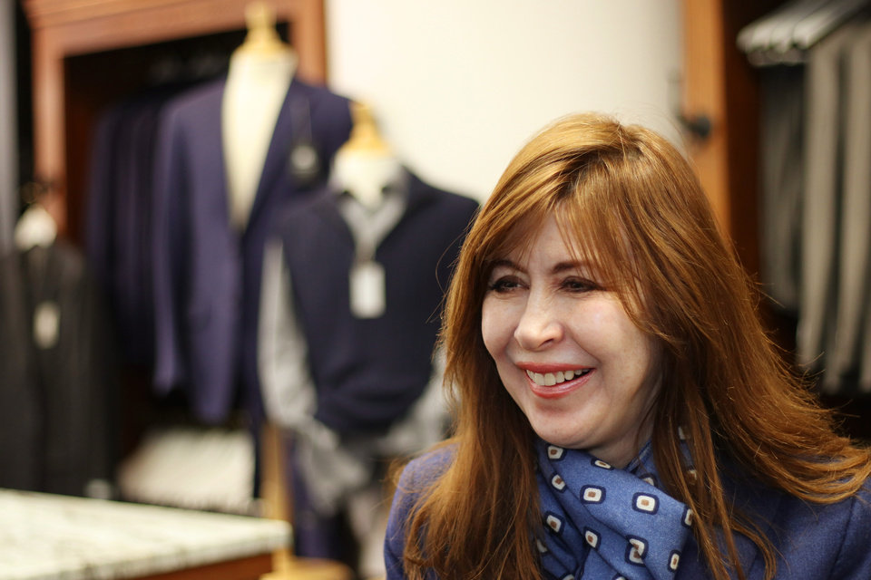 Photo -  Men's clothier Teena Hicks will celebrate 30 years in business this year. [DOUG HOKE/THE OKLAHOMAN]