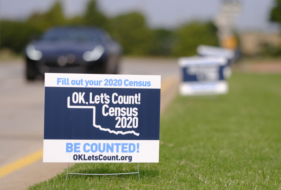 Photo - U.S. Census Bureau Director Steven Dillingham is making a pit stop in Oklahoma to stress the importance of the count.