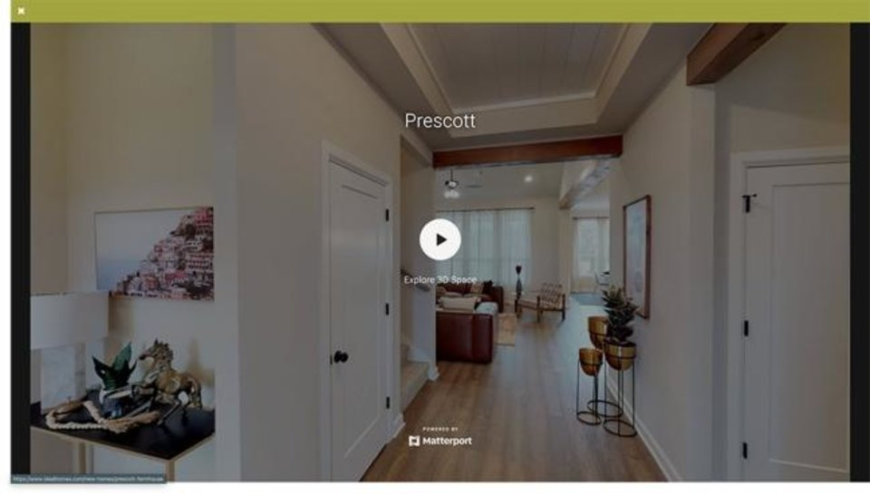 Photo -  A screen shot of a virtual home tour by Ideal Homes of Norman. [IDEAL HOMES]