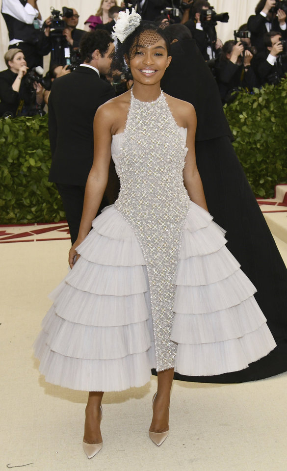 Image result for Yara Shahidi met gala