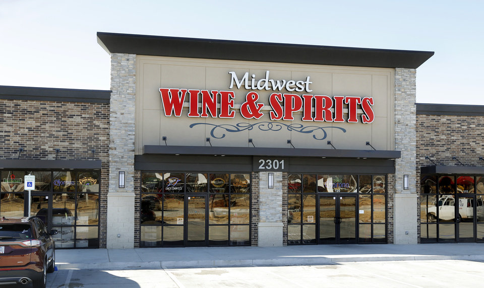 Photo -  Midwest Wine and Spirits is located at 2301 S Douglas Blvd. in Midwest City.
