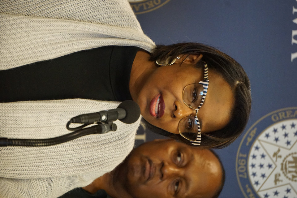 Photo -  Oklahoma City councilwoman Nikki Nice said Wednesday that Elijah Mothershed touched countless lives in his work with the community.
