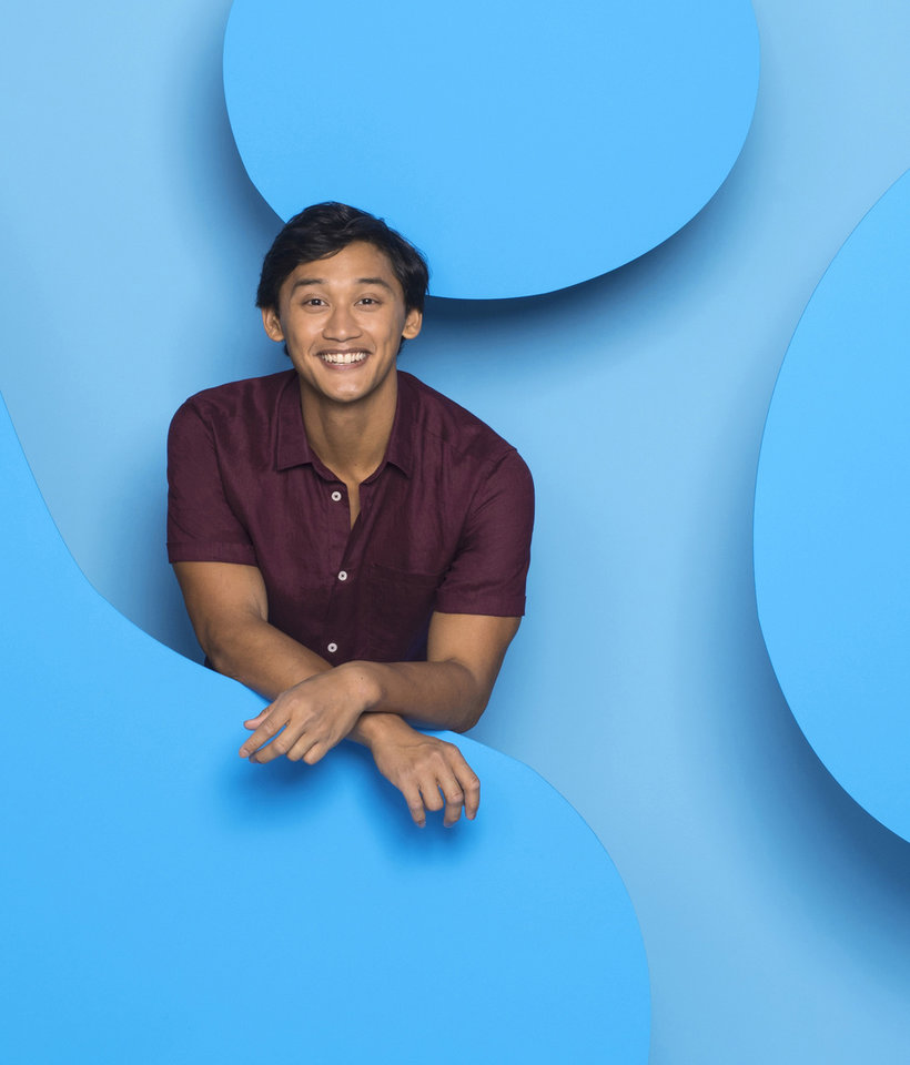 Photo - Pictured: The new host of Blue's Clues, Joshua Dela Cruz, on Nickelodeon. Photo: Gavin Bond/Nickelodeon. (C)2018 Viacom, International, Inc.  All Rights Reserved.