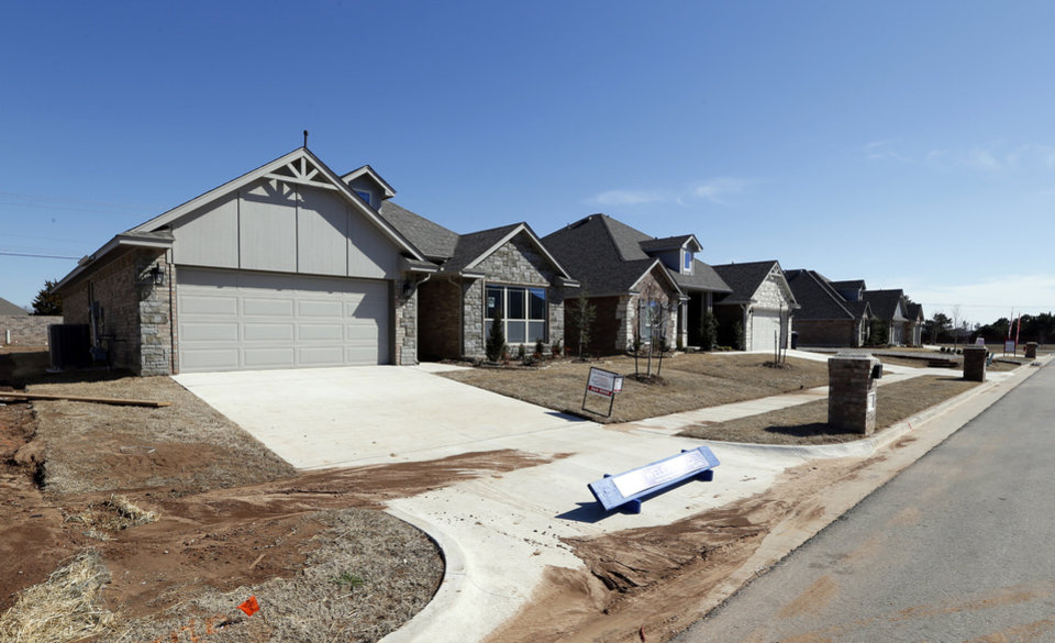 Home creations built these homes on celeste lane in palermo place addition in southwest oklahoma city photo by steve sisney the oklahoman