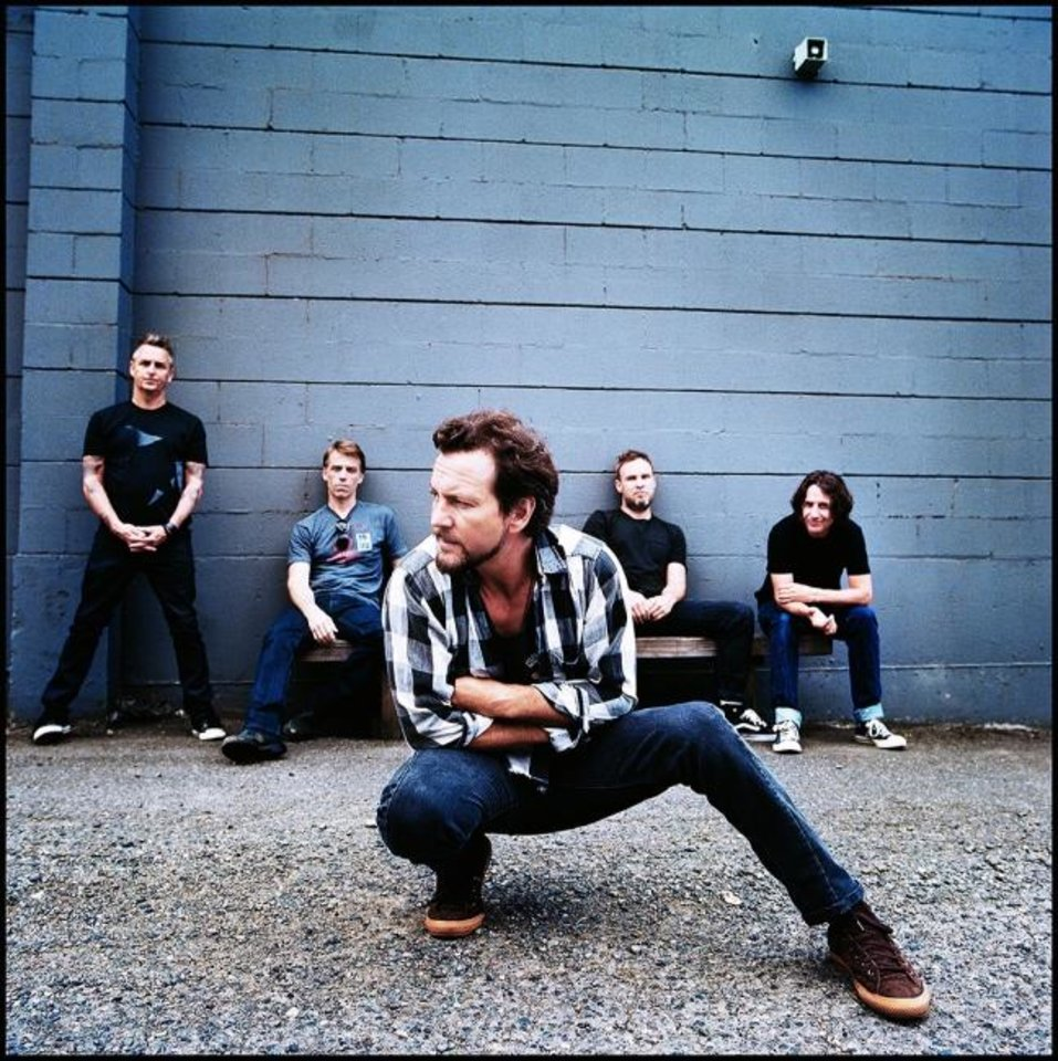 Photo -  Pearl Jam [Photo provided]