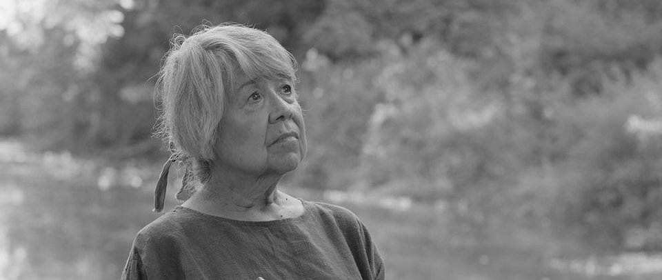 Photo -  Cherokee Nation citizen Winnie Guess Purdue appears in the short film