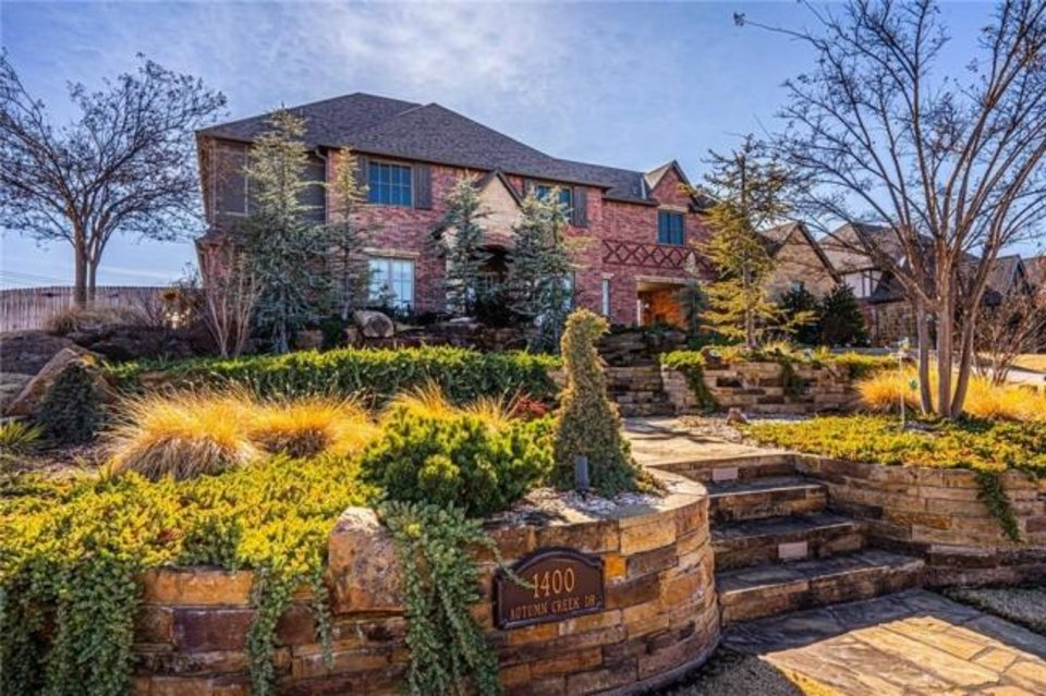 Photo -  The Listing of the Week is at 1400 Autumn Creek Drive, Edmond. [PHOTO PROVIDED]