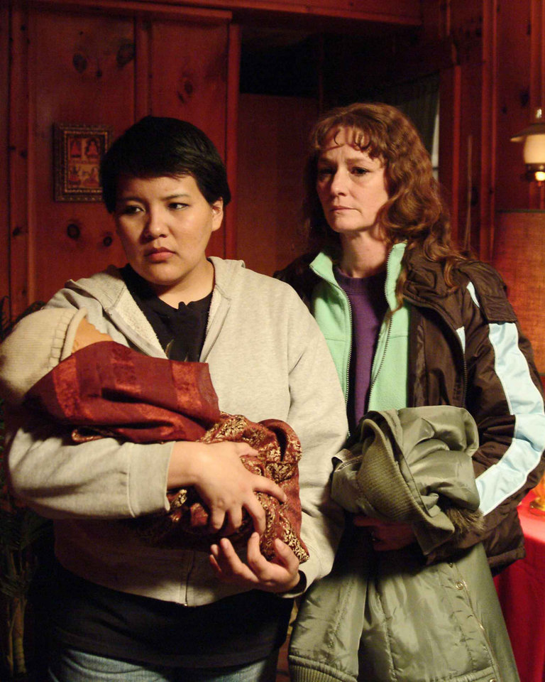 Photo - Misty Upham, left, stars as Lila and Melissa Leo stars as Ray in