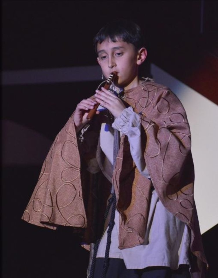 Photo -  Austin Rindlerwill reprise the role of  Amahl in Painted Sky Opera's