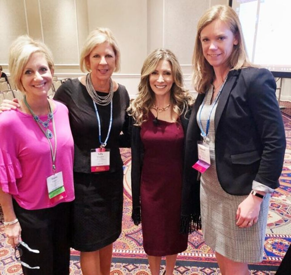 Photo -  Stacey Maxon, Sally Wajahn, Shannon Miller and Suzanne Beers. [PHOTO PROVIDED]
