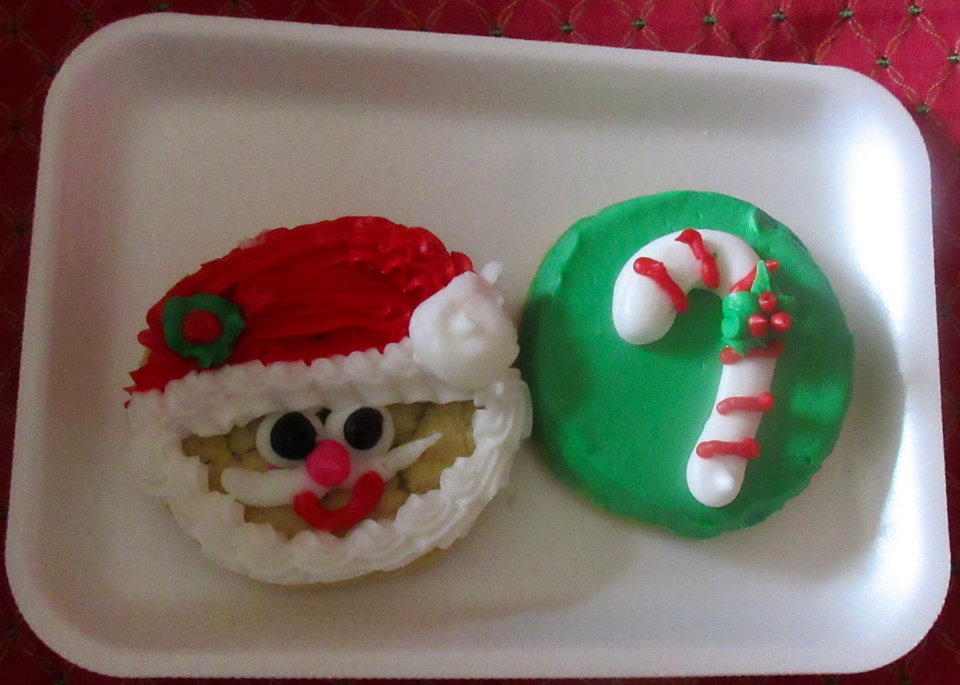 Photo -  Eileen's Cookies offers holiday-themed cookies.   [photo by Helen Ford Wallace, The Oklahoman]