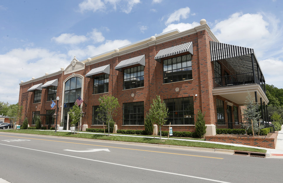 Space Race Non Energy Firms Claim Newest Downtown Office: building a house in oklahoma
