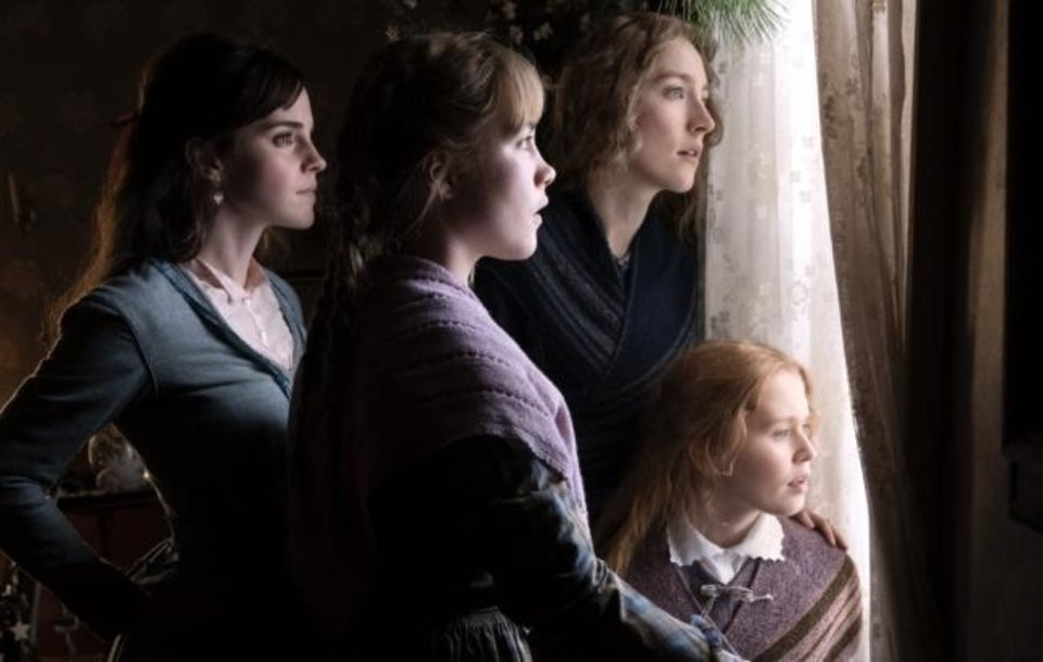 Photo -  From left, Emma Watson, Florence Pugh, Saoirse Ronan, and Eliza Scanlen appear in