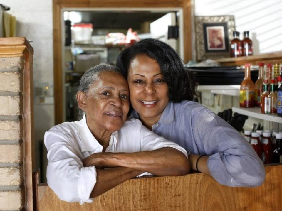 Photo - Florence's Restaurant, which opened in 1952, continues to be owned and operated by Florence Kemp and her daughter. Florence is now in her 80s and still works in the kitchen every day. The restaurant is located in the 1400 block of NE 23.   Photo by Jim Beckel, The Oklahoman