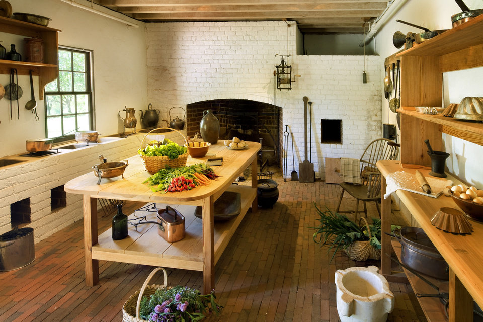 The Kitchen At Monticello Copyrighted Photo Provided By Thomas Jefferson Foundation