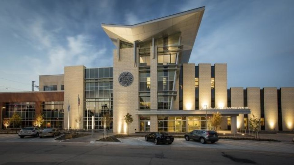Photo -  CMSWillowbrook Inc. received a 2018 Build Oklahoma Award in the institutional $20-50 million category for work on Oklahoma City Municipal Courts. [PHOTO PROVIDED BY ASSOCIATED GENERAL CONTRACTORS OF OKLAHOMA]