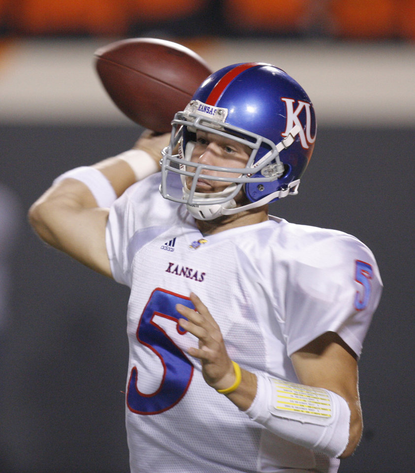 Kansas' Todd Reesing set for big senior season - Article Photos