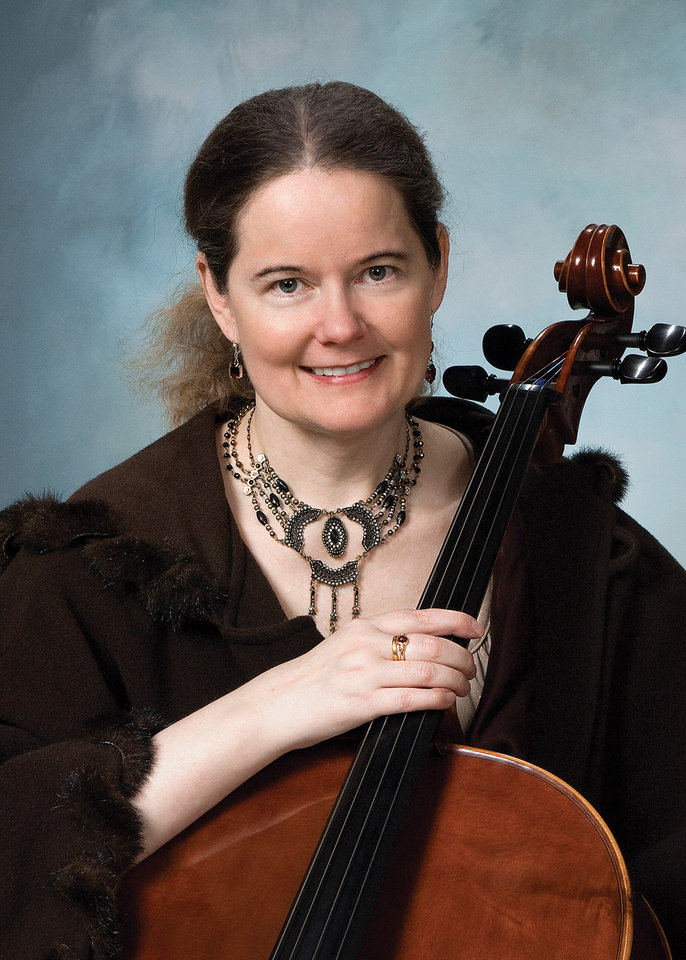Photo -  Acclaimed cellist Tess Remy-Schumacher will perform March 11 as part of Virginia Campbell's Piano Artist Series. Michael Staudt will join her on piano.[Photo provided]