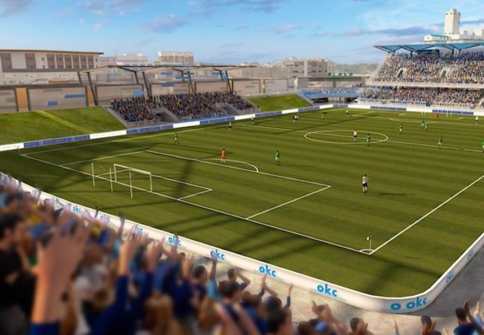 Photo -  A proposed soccer/multi-use stadium is among several proposals being considered by the Oklahoma City Council for inclusion on MAPS 4. [Provided]