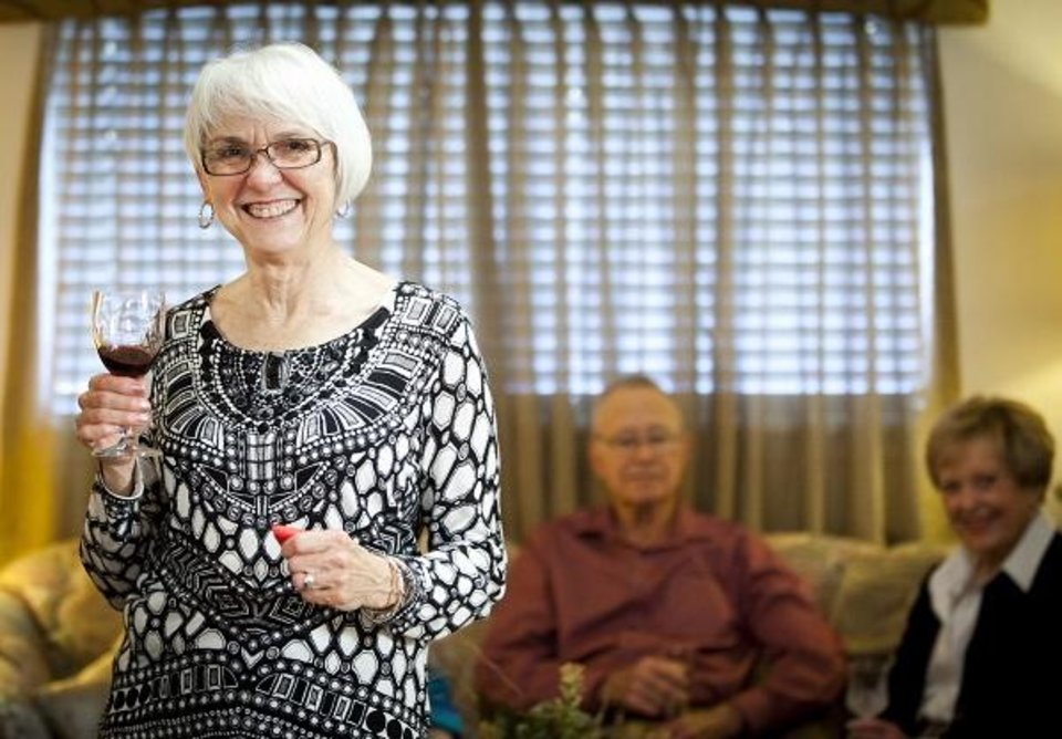 Photo - Spanish Cove Retirement Village residents enjoying life after downsizing. [PROVIDED]